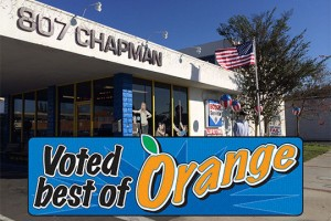 Voted Best Auto Repair of Orange!